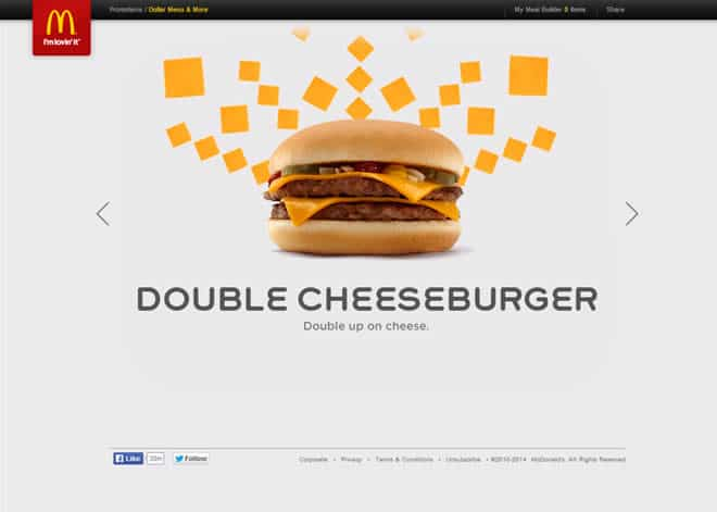 mcdonalds website