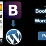Convert Bootstrap to WordPress