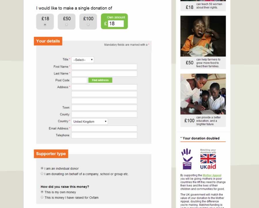 oxfam screenshot
