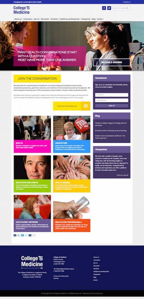 College of Medicine website