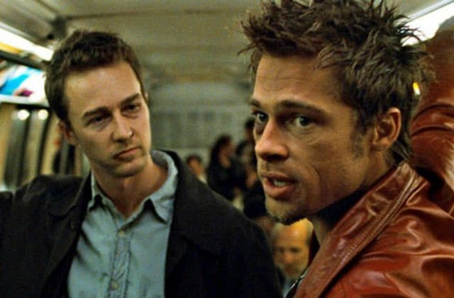 Bradd Pitt in Fight Club